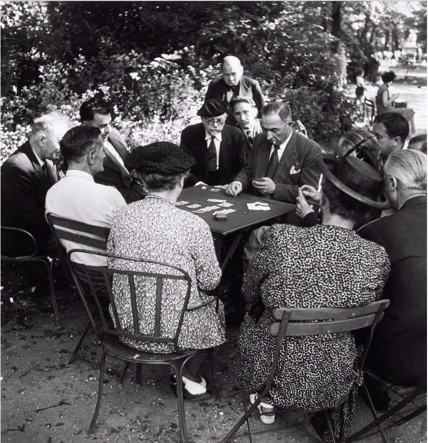 1950. Люксембургский сад