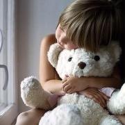 Ребенок с мишкой