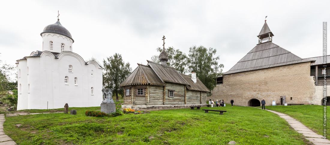 территория Староладожской крепости