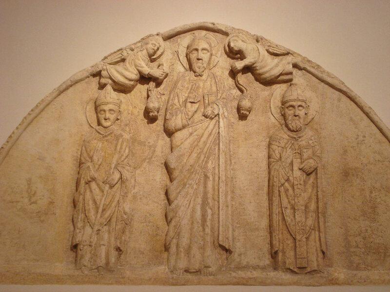 008-Христос со свв. Леонардом и Ремигием (музей Бари).jpg