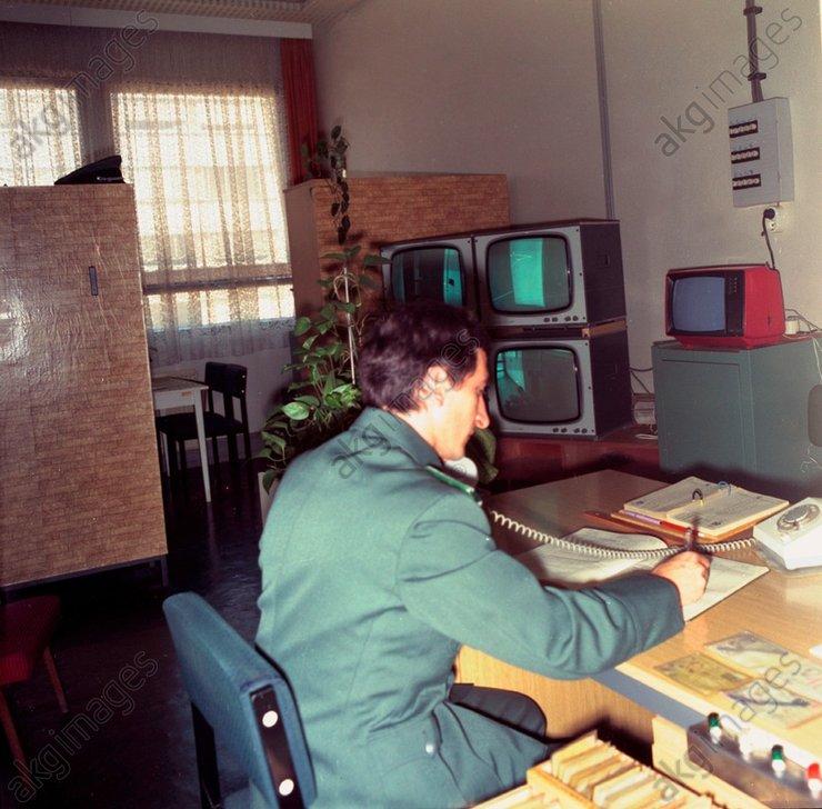 DDR-Volkspolizei/Betriebsschutz/Foto1984 - -