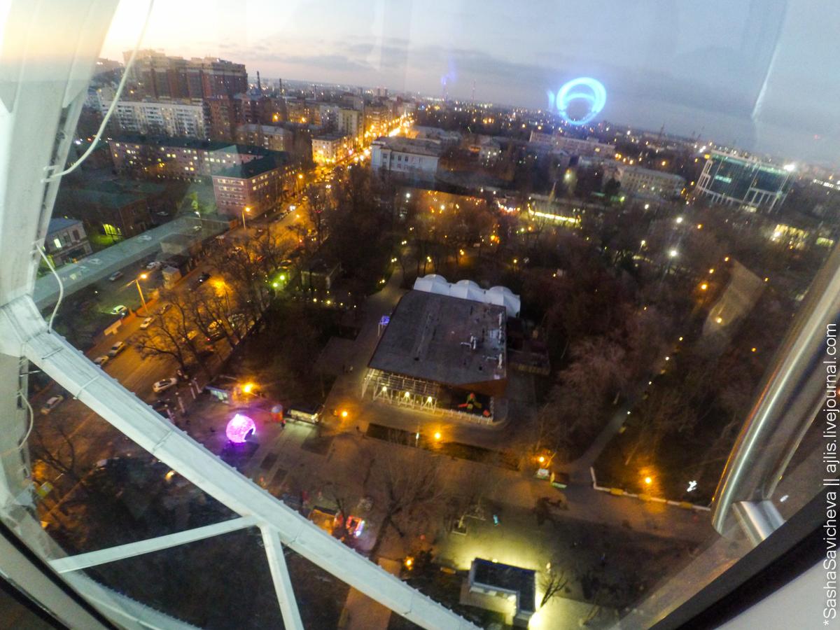 Колесо обозрения Одно небо в Ростове. Фото: Саша Савичева