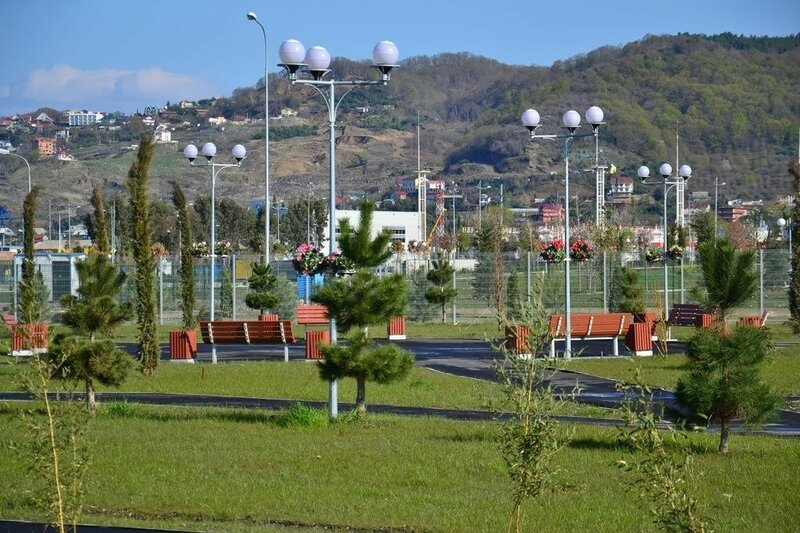 Олимпийская деревня в Сочи после Олимпиады
