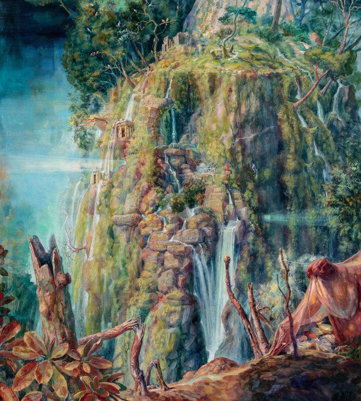 Художница Джули Хеффернан и картины о спасении окружающей среды