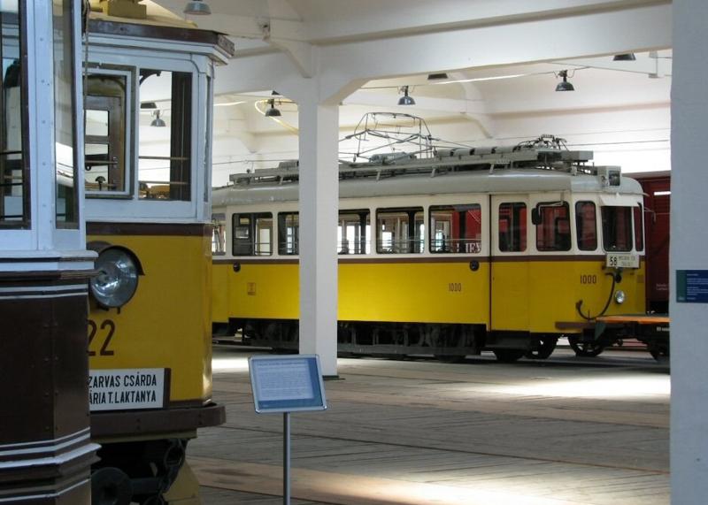 Музей транспорта в Сентендре