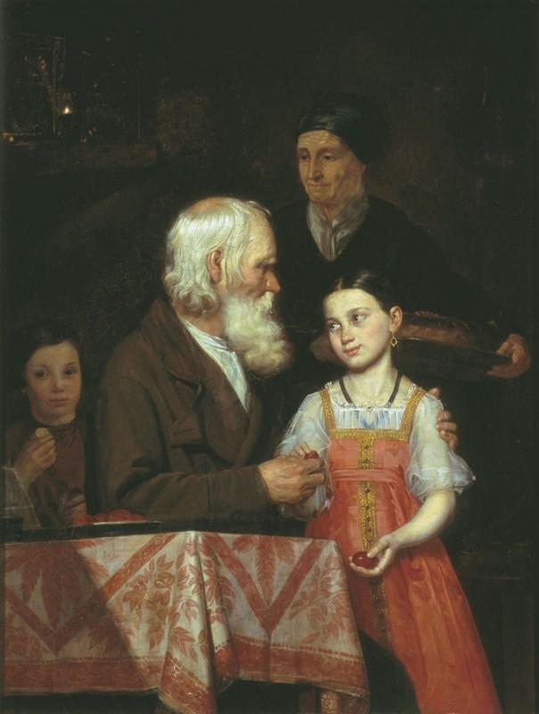 М. А. Мохов. Пасха. 1842