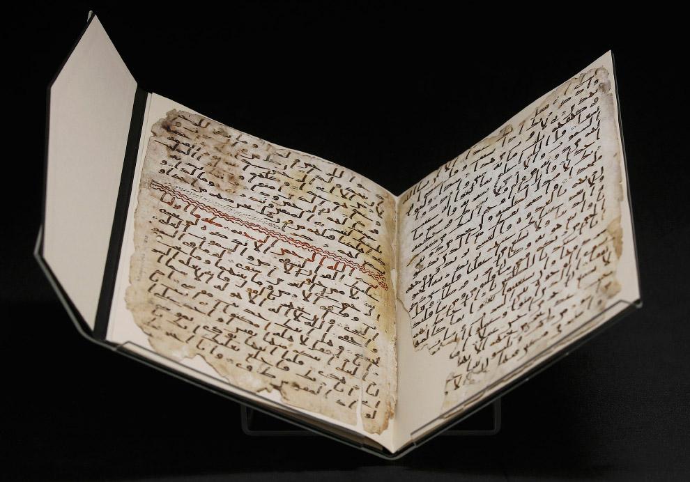 3. Пергамент изготовлен из кожи козы или овцы. (Фото Peter Nicholls | Reuters):