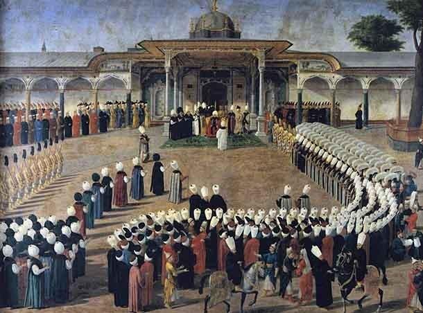 Когда Стамбул был Константинополем, он был столицей Османской империей (также называемой Турецко