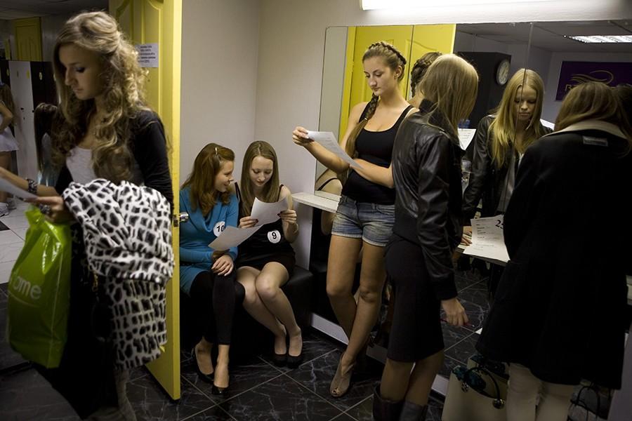 9. Кастинг, организованный агентством Maks Models Agency, для отбора претенденток для участия в конк
