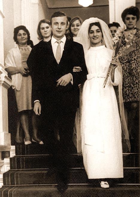 Редкие свадебные фотографии советских знаменитостей