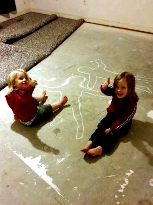 Детки шутят.