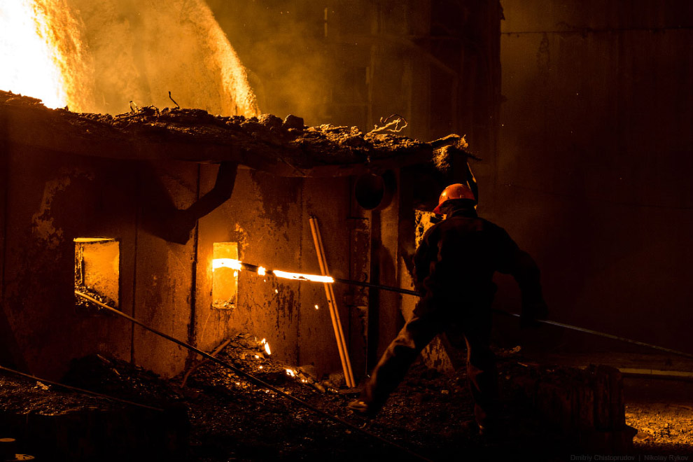 Кипящая сталь: