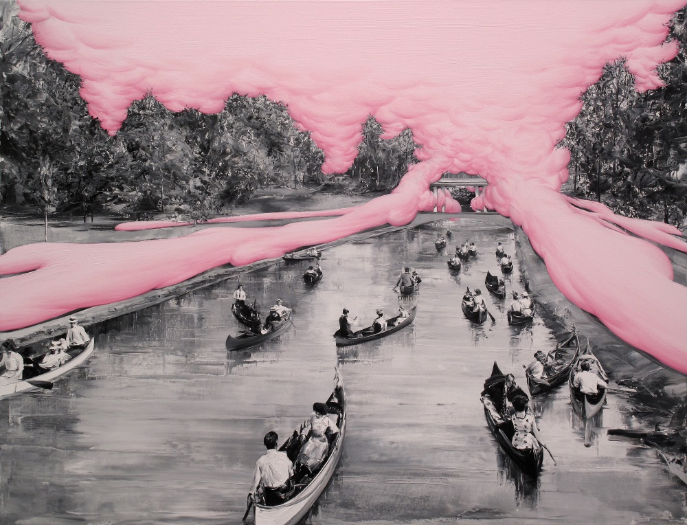 Испанский художник Пако Помет (Paco Pomet) рисует фотографии , однако к фотореализму вовсе не стреми