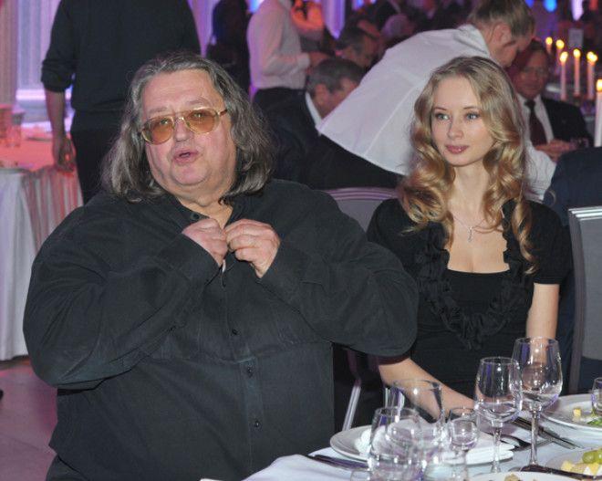 Возлюбленная Градского – красавица Марина Коташенко, которая младше его на 31 год. Увидел он е