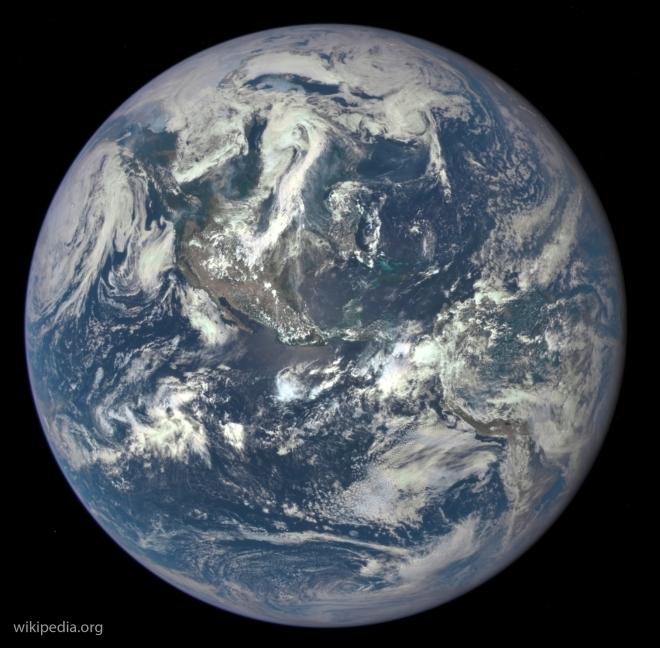 NASA показало движение углекислого газа ватмосфере