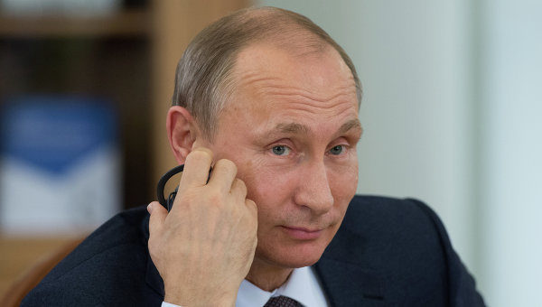 ВКремле поведали обакцентах разговора В.Путина иТрампа