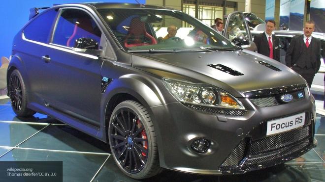ВСША компания Форд реализует ежедневно по16 моделей FocusRS