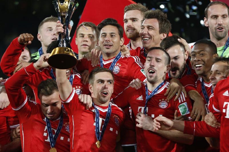 «Бавария» впятый раз подряд выиграла чемпионат Германии
