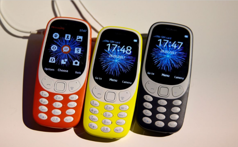 Наукраинском рынке возникла новая нокиа 3310