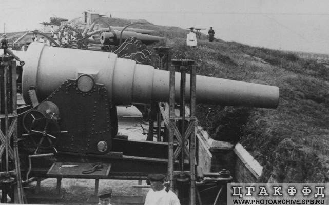 Левый фланг Морской Северной батареи №5