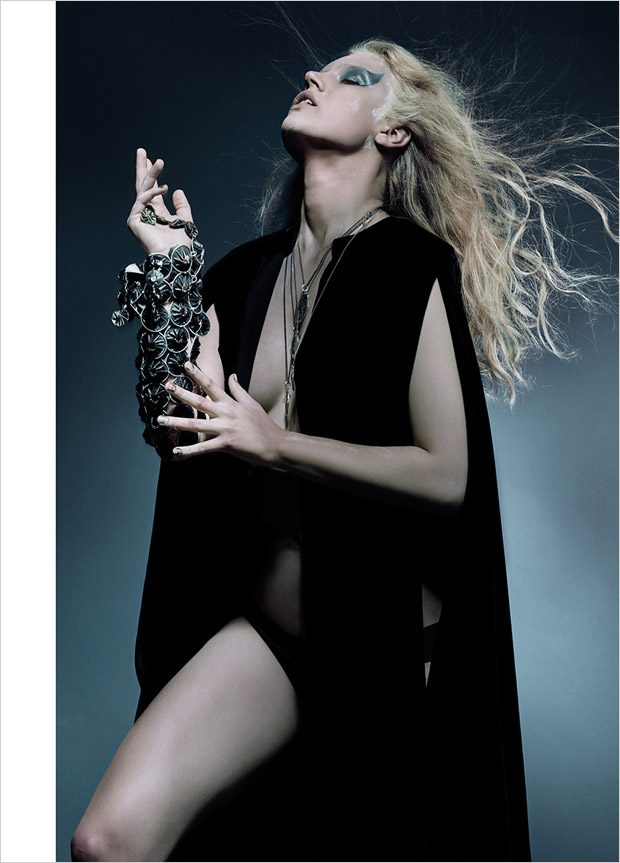 The Vikings: Benthe de Vries & Elsa Brisinger for S Magazine Latest Issue