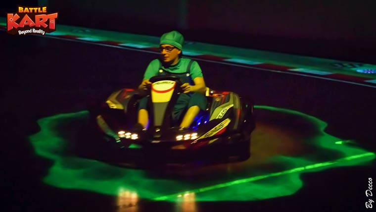 BattleKart - Augmented reality karting lets you play Mario Kart in real life!