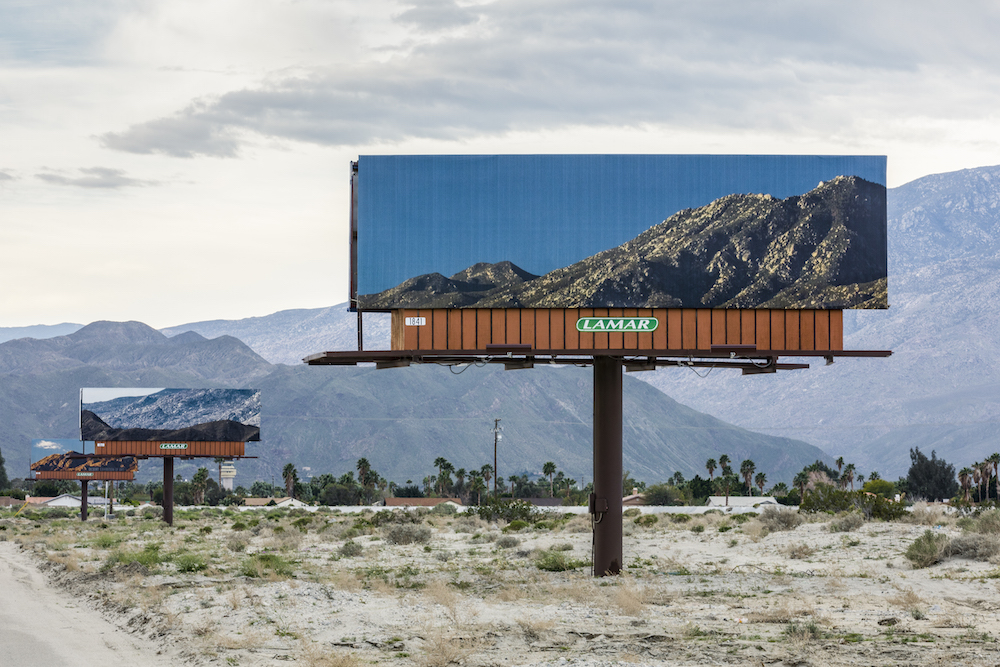 Billboards That Advertise the Surrounding California Landscape by Jennifer Bolande (5 pics)
