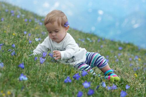 Поход с ребенком 11 месяцев в Лагонаки, июнь