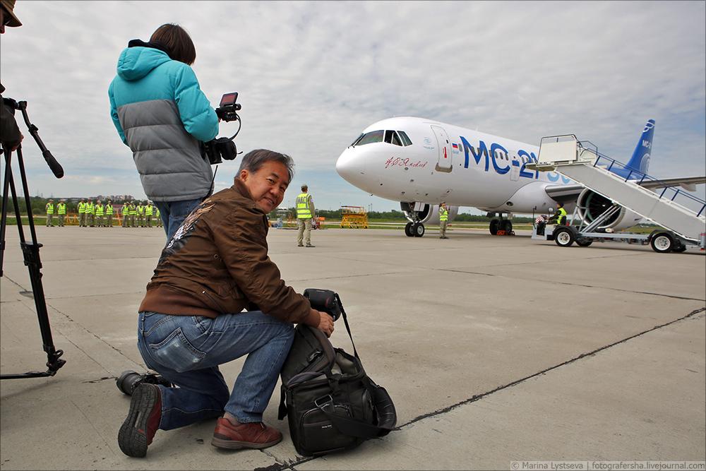Первый полёт МС-21