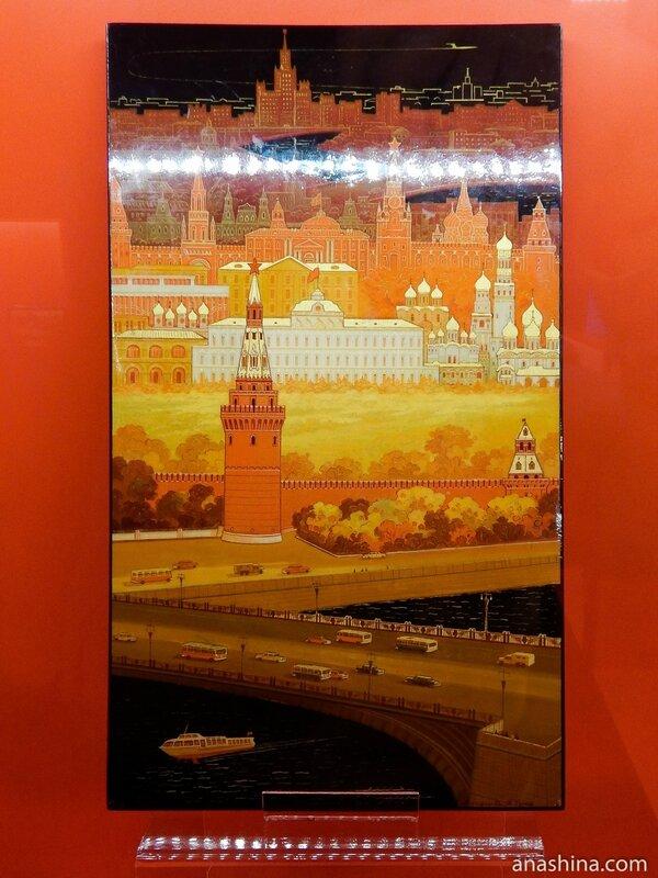 Москва, Федоскинская лаковая миниатюра