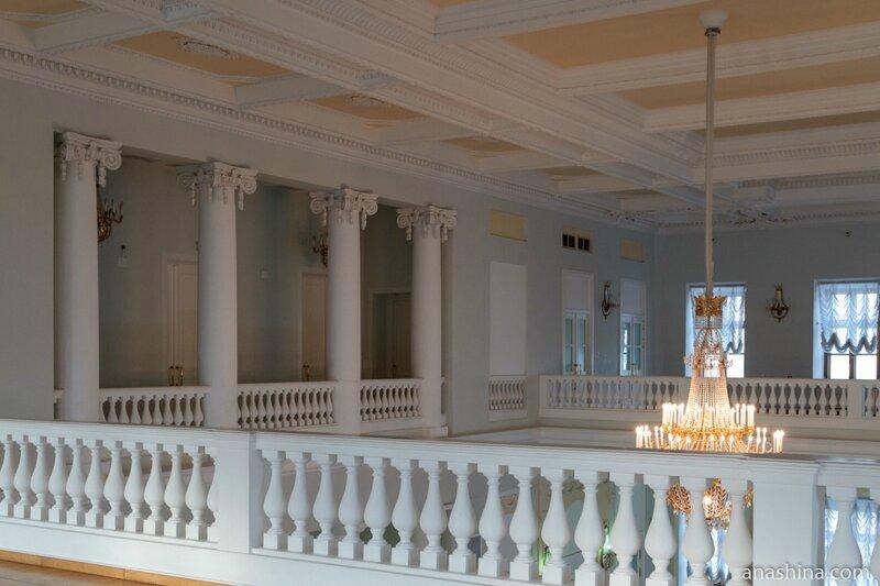 Второй ярус Большого зала, дом Пашкова