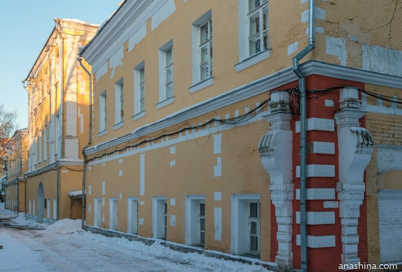 Фасад дворца, Лефортовский дворец