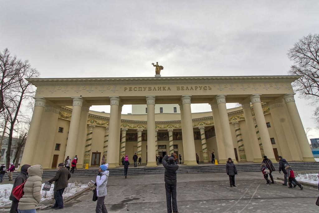 Павильон Беларусь на ВДНХ после реставрации