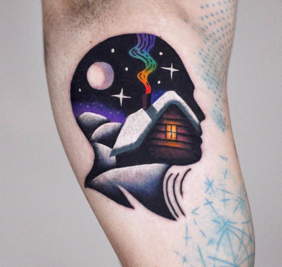 Dreamlike Psychedelic Tattoos