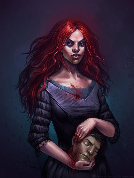 Hot Illustrations by Alexandra Schastlivaya