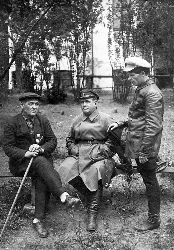 В.И. Левадных, П.З. Ермаков и А.И.Медведев