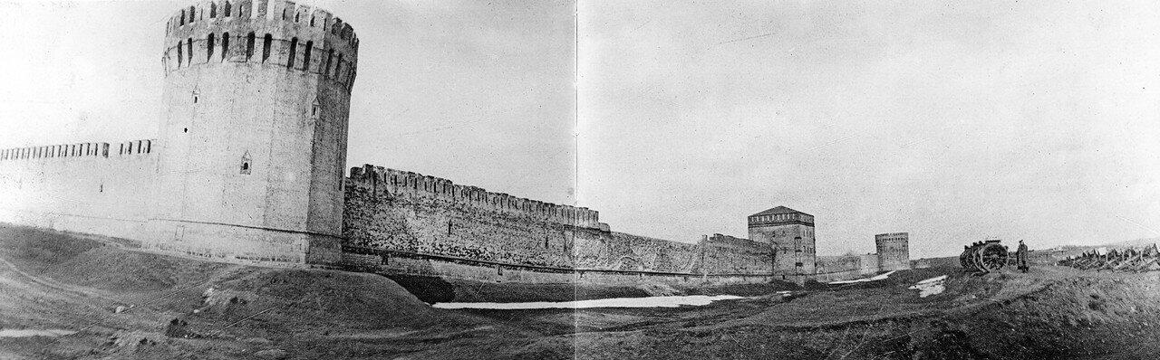 Башни Заалтарная, Авраамиевская и Орёл. 1902