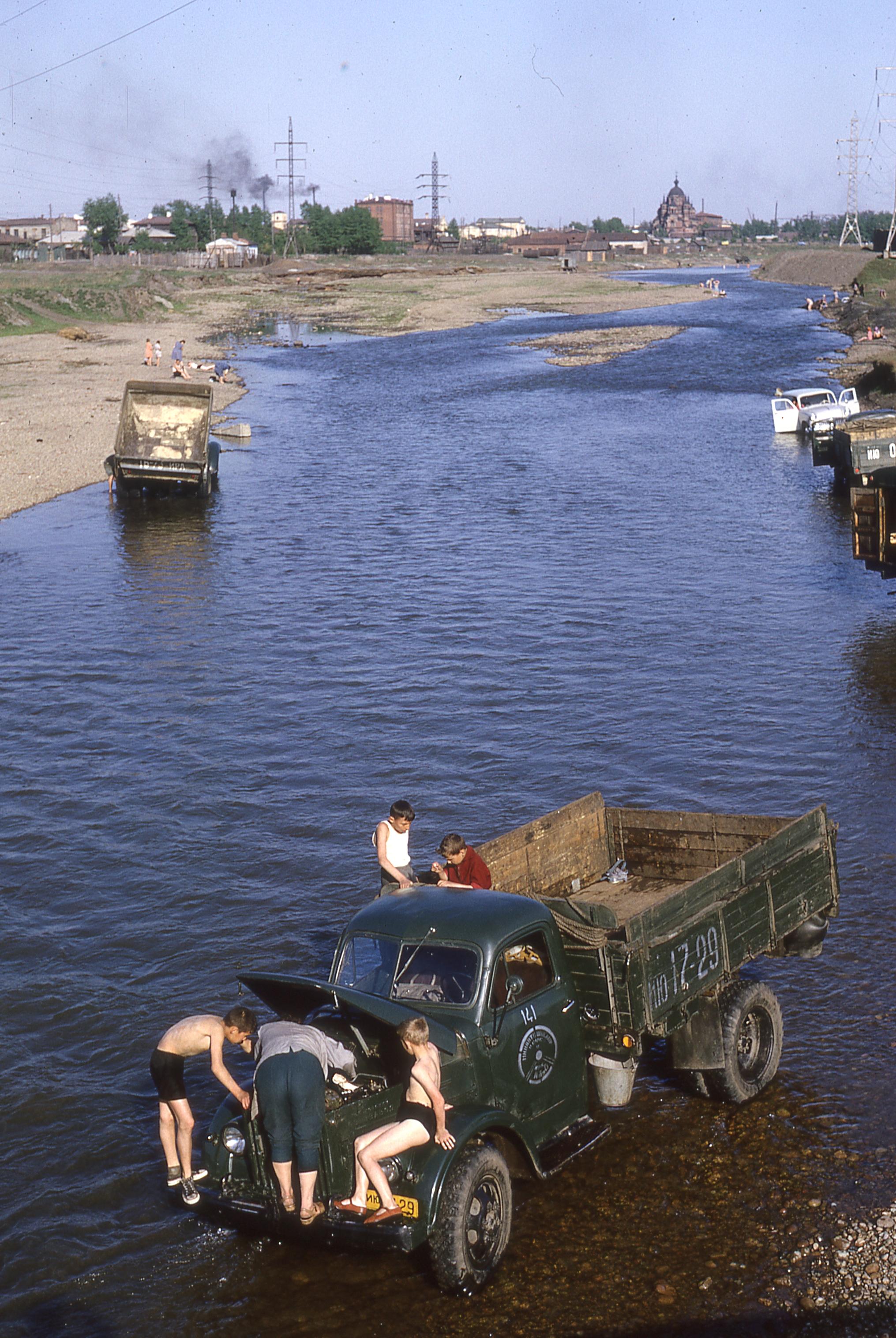 1985. Иркутск. Ушаковка