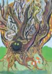 Зубова Анна (рук. Мезенцева Александра Ивановна) - Осеннее дерево