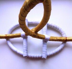 Свадебные кольца на машину. Мастер-класс  0_1324e8_405ca68a_M