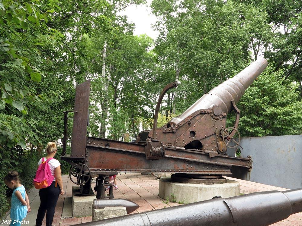 Русская 11-дюймовая пушка