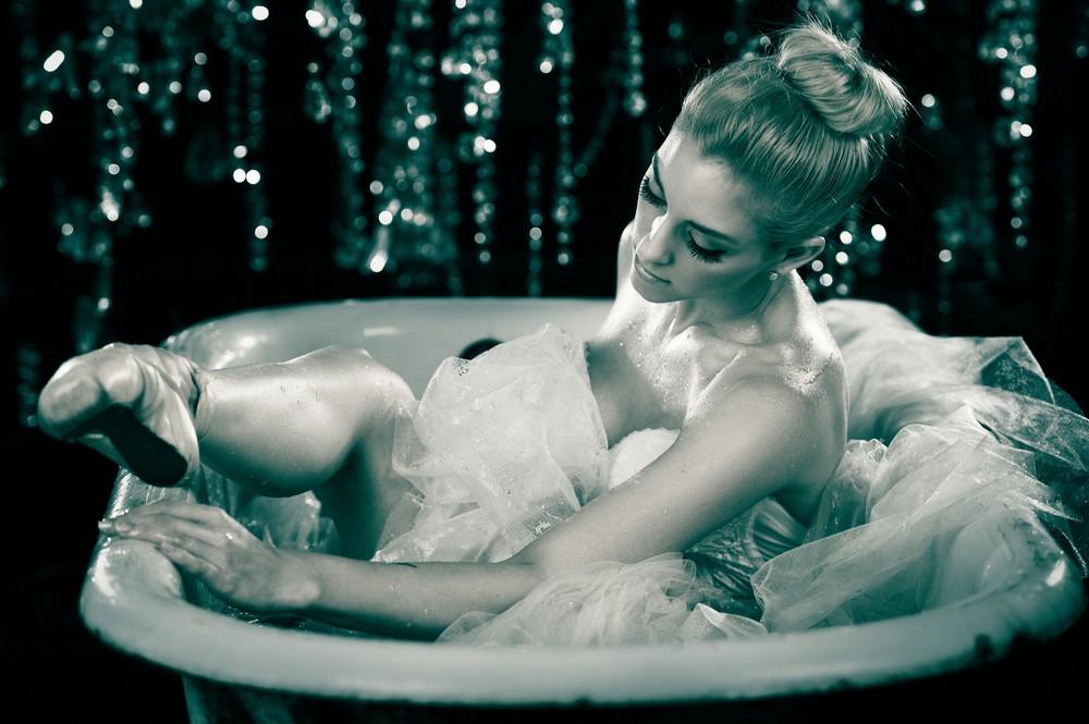 Девушки в ванной
