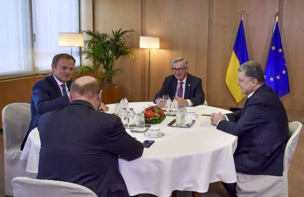 Долгожданная встреча в Брюсселе: Подробности саммита Украина-ЕС (фото, видео)