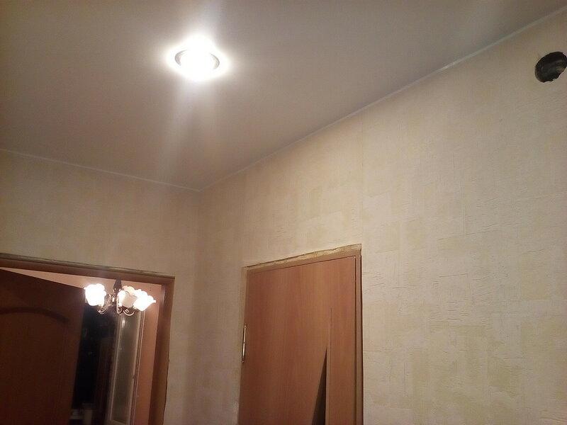 Натяжной потолок... подкинул проблему!