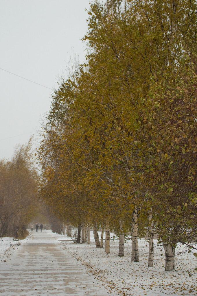 Нижневартовск в октябре