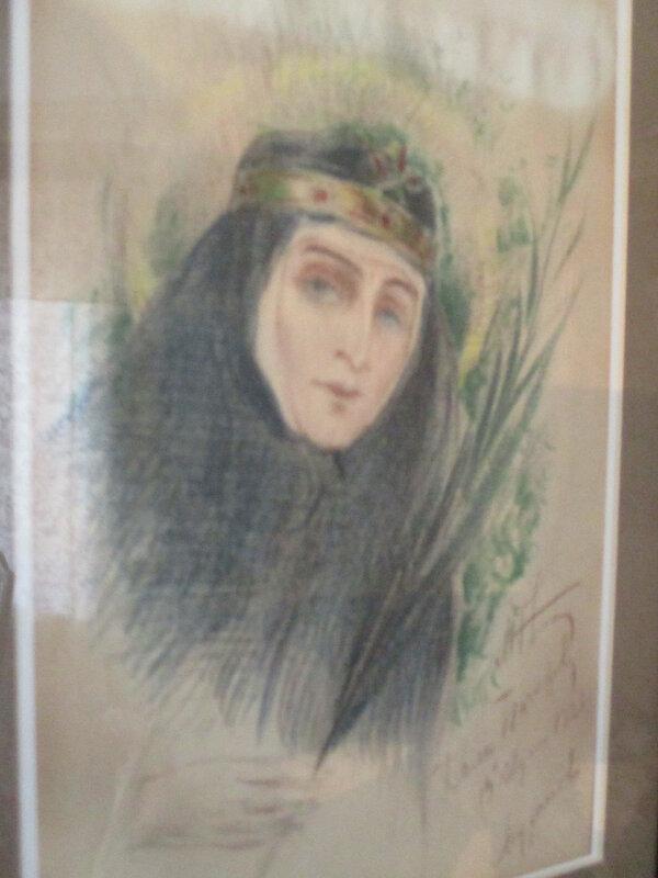 М.В.Нестеров. Великая княгиня Елизавета Федоровна