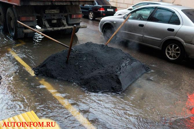 Самые угарные приколы дорожного ремонта