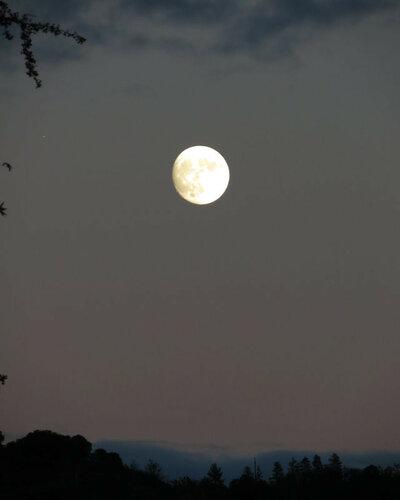 Почти полная луна (96%)