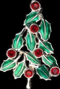 елка из драгоценных камней