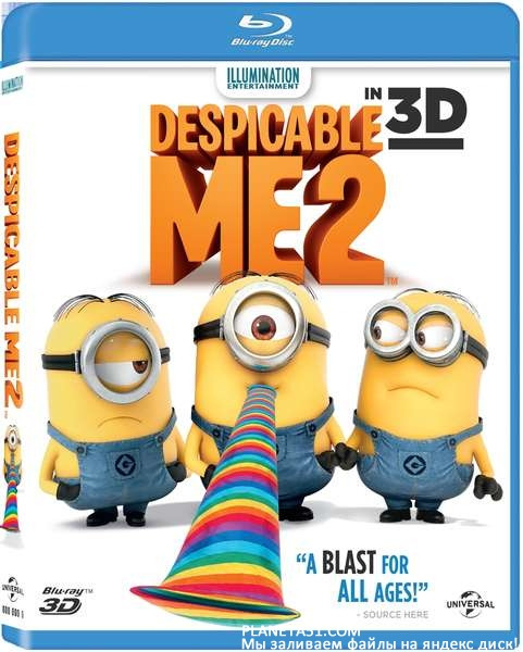 Гадкий я 2 / Despicable Me 2 / 2013 / ДБ, СТ / 3D (HOU) / BDRip (1080p)